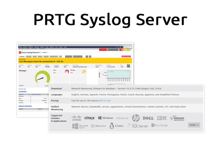 what is a syslog server used for