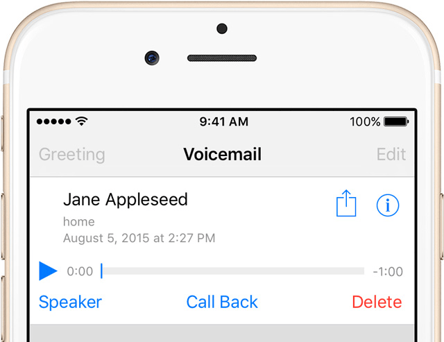 How to set up voicemail on iphone cosect set up voicemail on iphone m4hsunfo