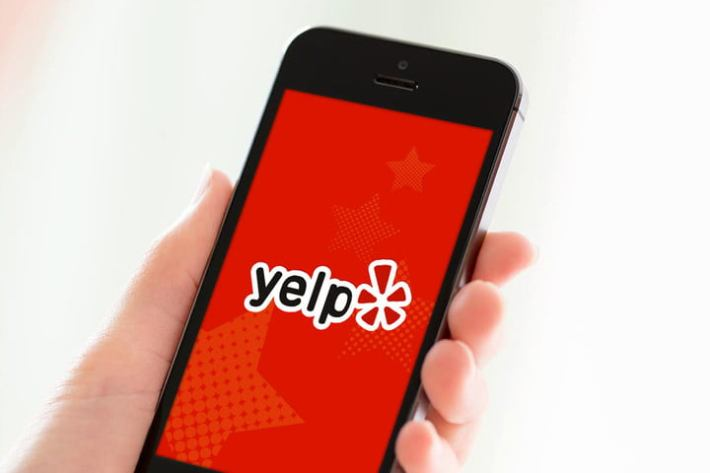 YELP STICKERS image