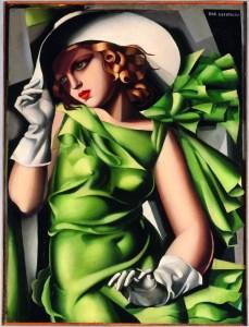 Jeune fille en vert (Jeune fille aux gants) 1927/1930