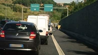 Photo of Autostrada del Mediterraneo: autocisterna in panne nella galleria di Serra Spiga