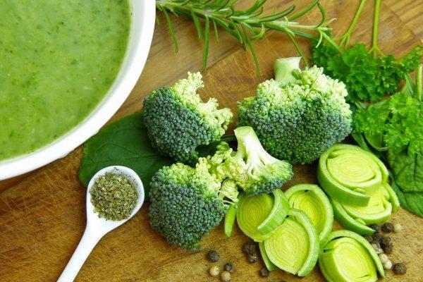 Vellutata di broccoli e ceci