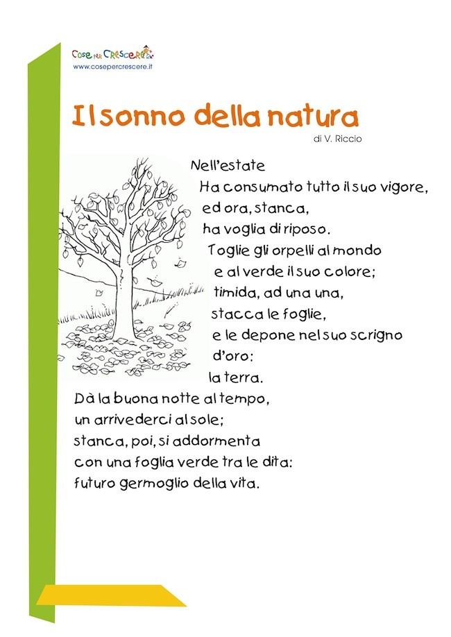 Il Sonno Della Natura Poesia Sullautunno