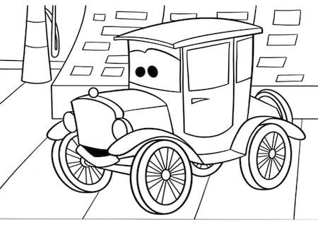 Disegni Da Colorare Di Cars 1 Tecnogers