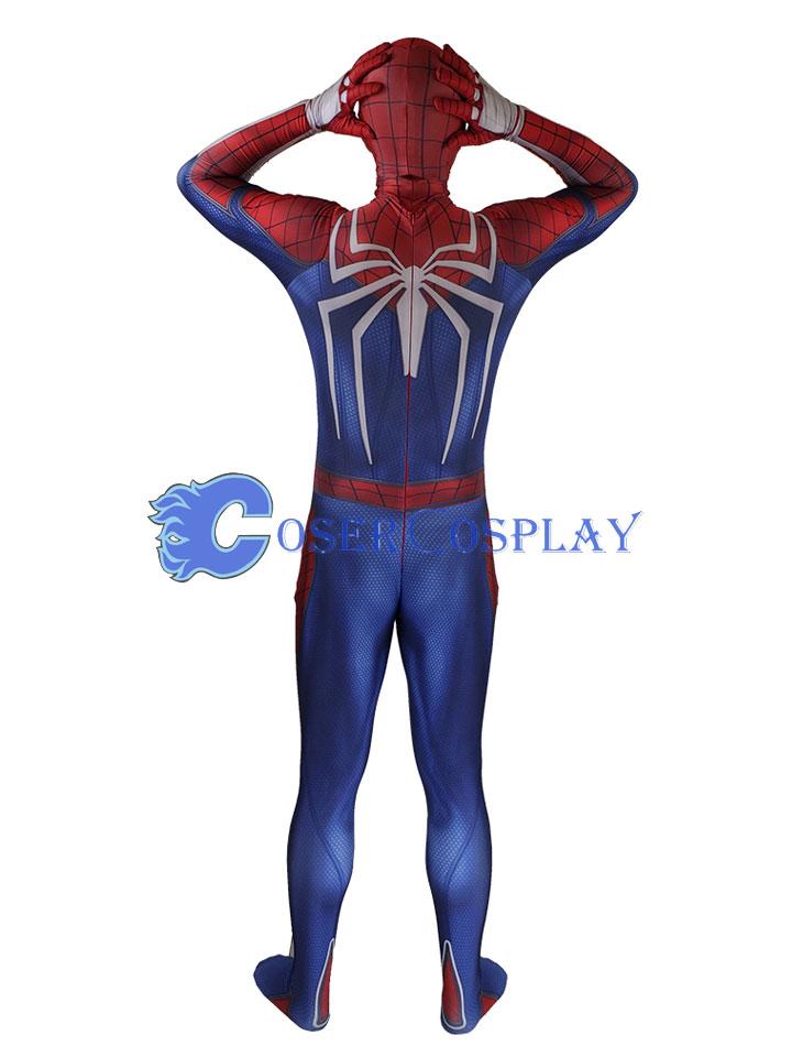 2018 Insomniac Games PS4 Spiderman Halloween Costume