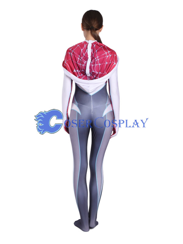 2018 Spider Woman Gwen Stacy Costume Halloween Sexy
