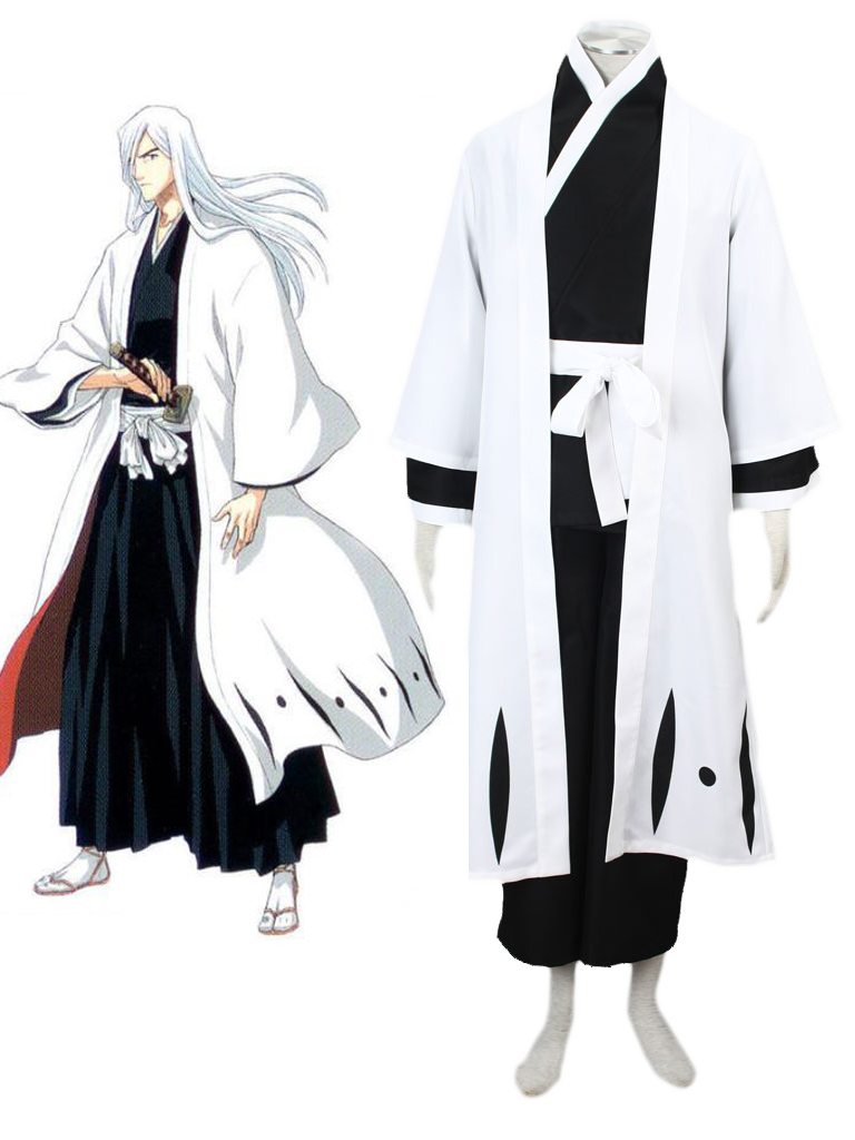 bleach gotei thirteen jūshiro ukitake captain of the 13th division