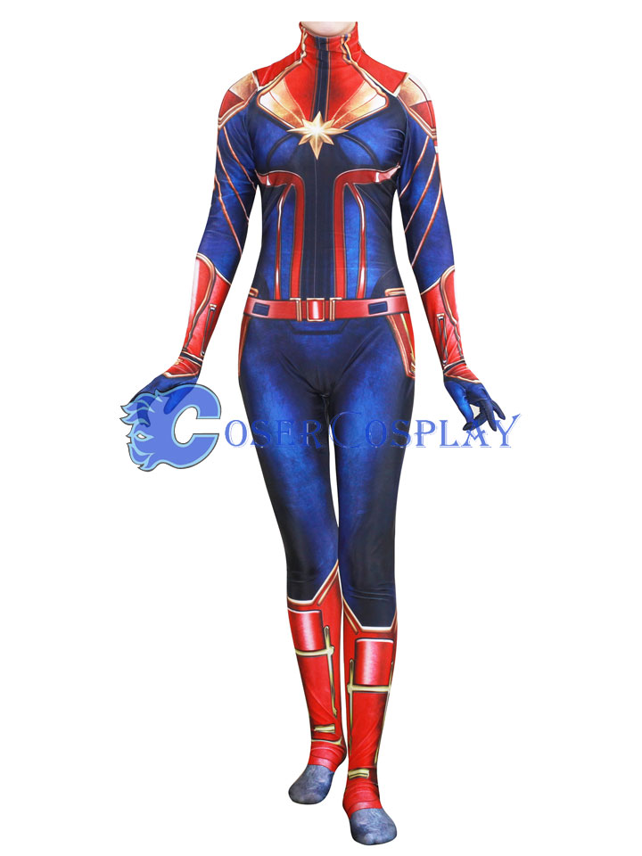 Captain Marvel Carol Danvers Ms Halloween Costume Ideas Hobbies And Crafts Air force fighter pilot and member of an elite kree military team called starforce, whose dna was fused with that of a kree during an accident, which imbued her with superhuman strength, energy projection, and flight. hobbies and crafts wordpress com