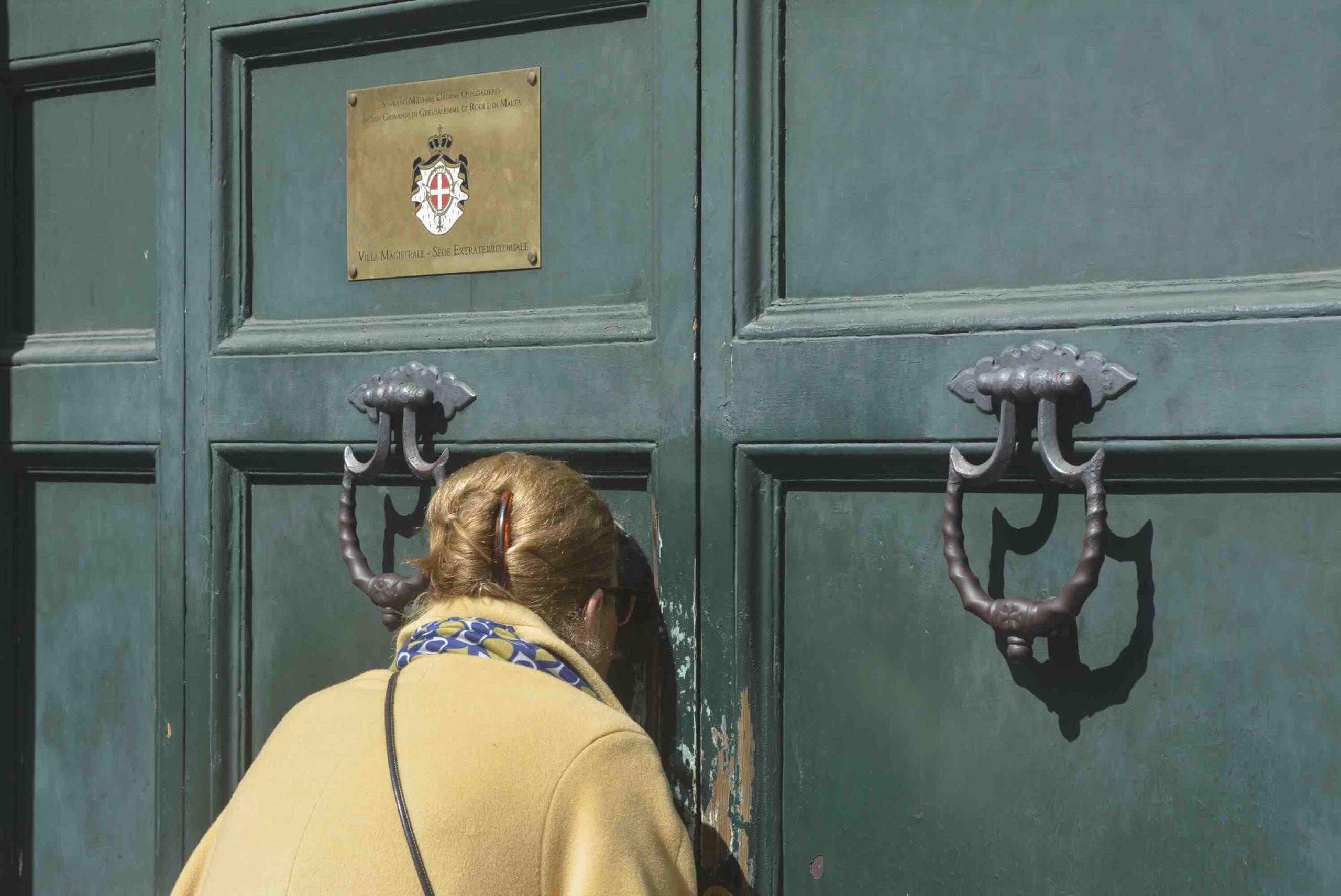 Rome sleutelgat