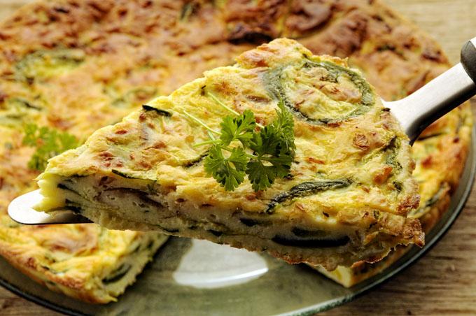 Frittata 義大利式菠菜烘蛋 프리타타