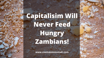 Capitalisim Will Never Feed Hungry Zambians!
