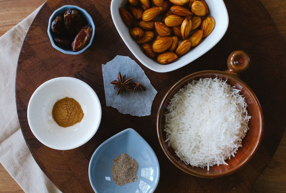 Spiced Almond and Coconut Milk
