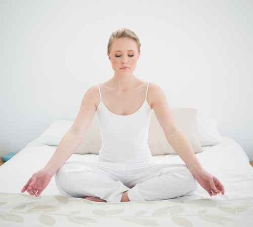 meditation before bedtime will help you sleep deep