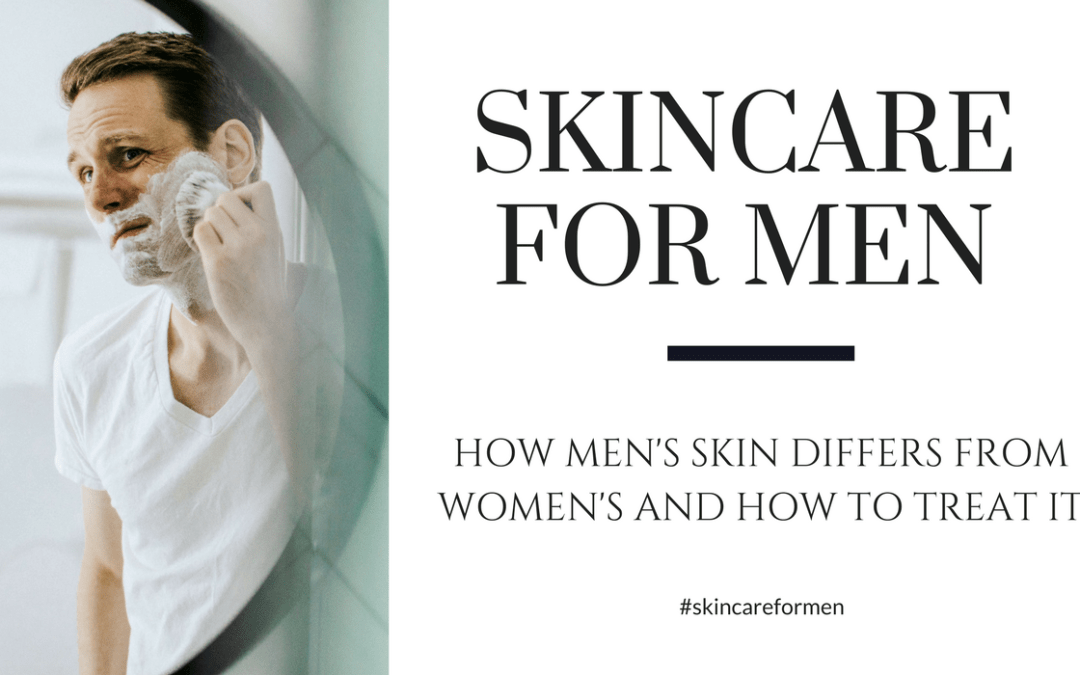 Skincare Products for Men: How Men's Skin Differs from Women's and How to Treat it
