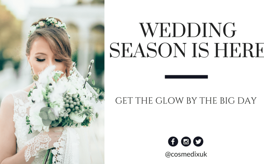 75f4955e55a30 Wedding Season is Here: Get the Glow by the Big Day - CosmedixUK