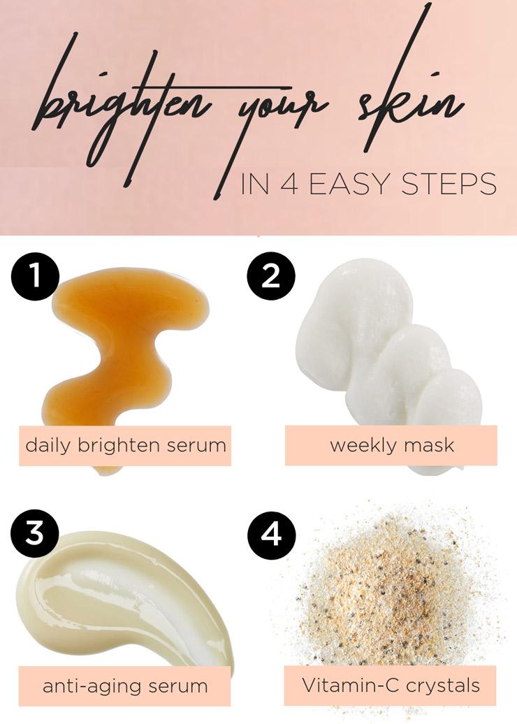 skin brightening tips