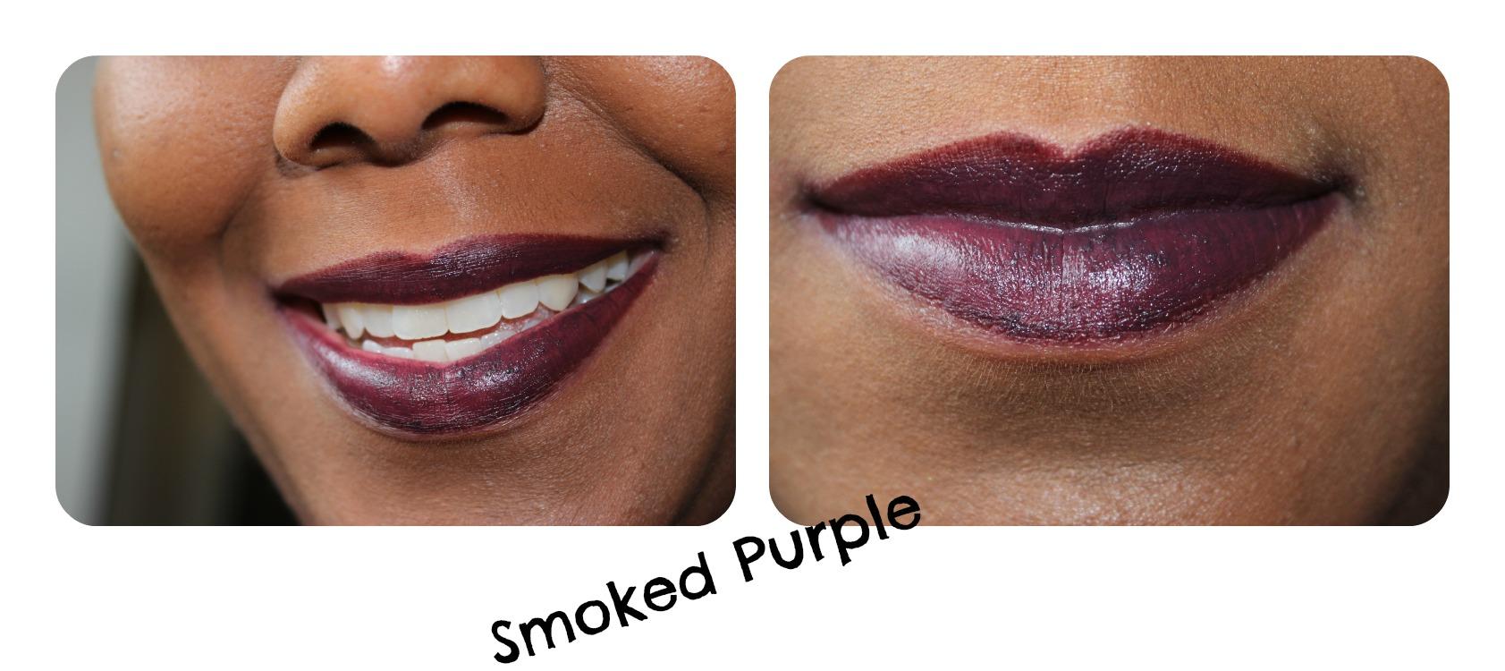 mac smoked purple swatch