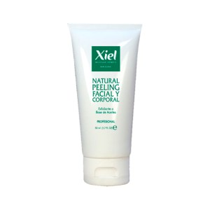 Exfoliante Suave Corporal y Facial / NATURAL PEELING 50ml / Xiel