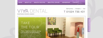 Viva Dental website desgn