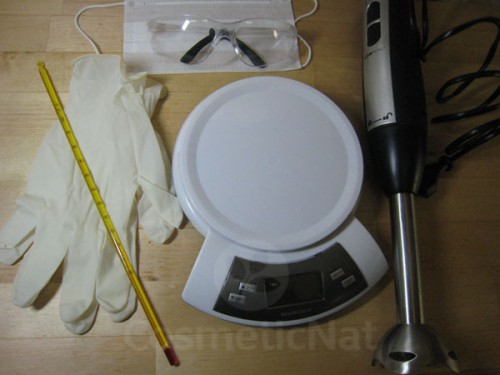 Materiales necesarios para la elaboración del jabón casero