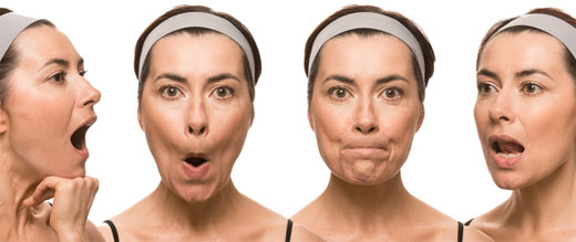 Resultado de imagen para ejercicios faciales