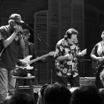 Lazy Lester (harmonica) and James Burton (guitar) at the Ponderosa Stomp, New Orleans (House of Blues)