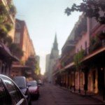 French Quarter, New Orleans (medium format)