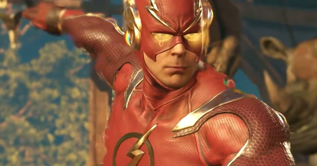 Injustice 2 The Flash Trailer Cosmic Book News