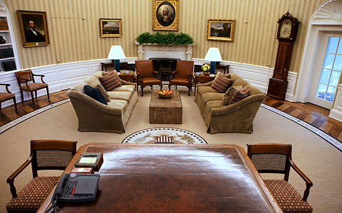 Obama Redecorates The Oval Office CosmicConservative