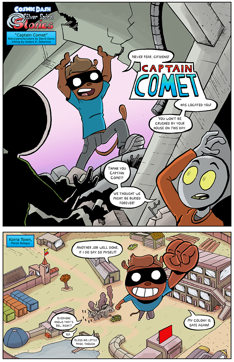 Captain Comet – Pg 1