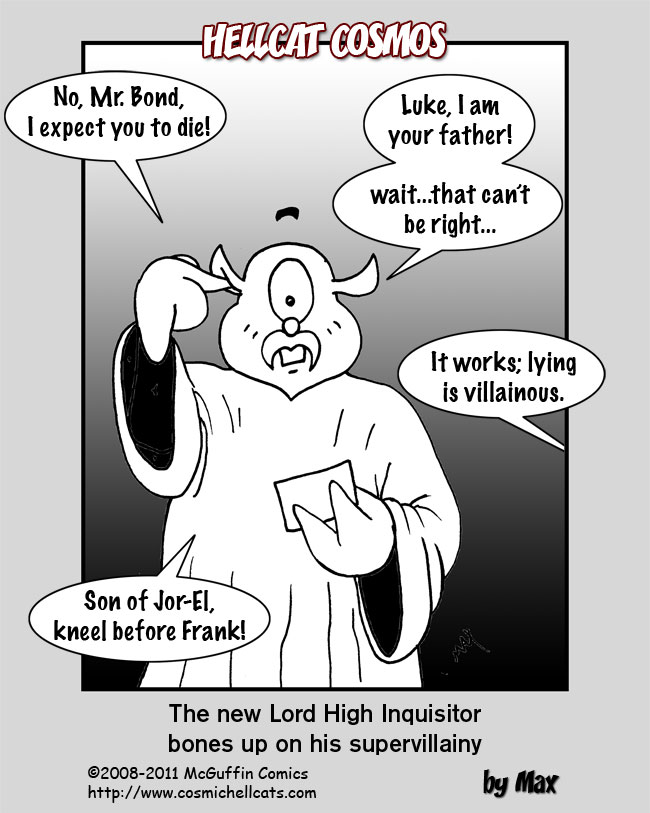 The new Lord High Inquisitor