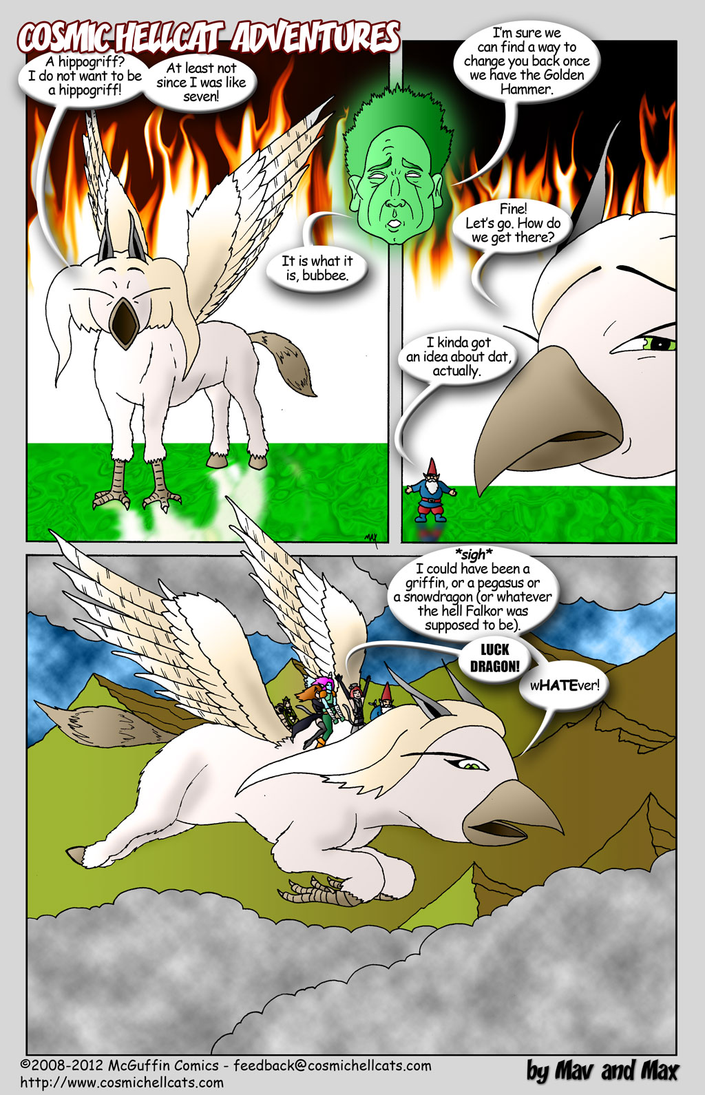 I do not want to be a hippogriff!