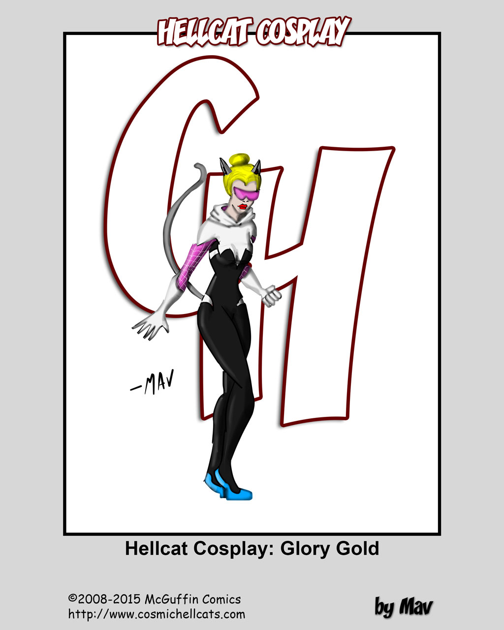 Hellcat Cosplay: Glory Gold