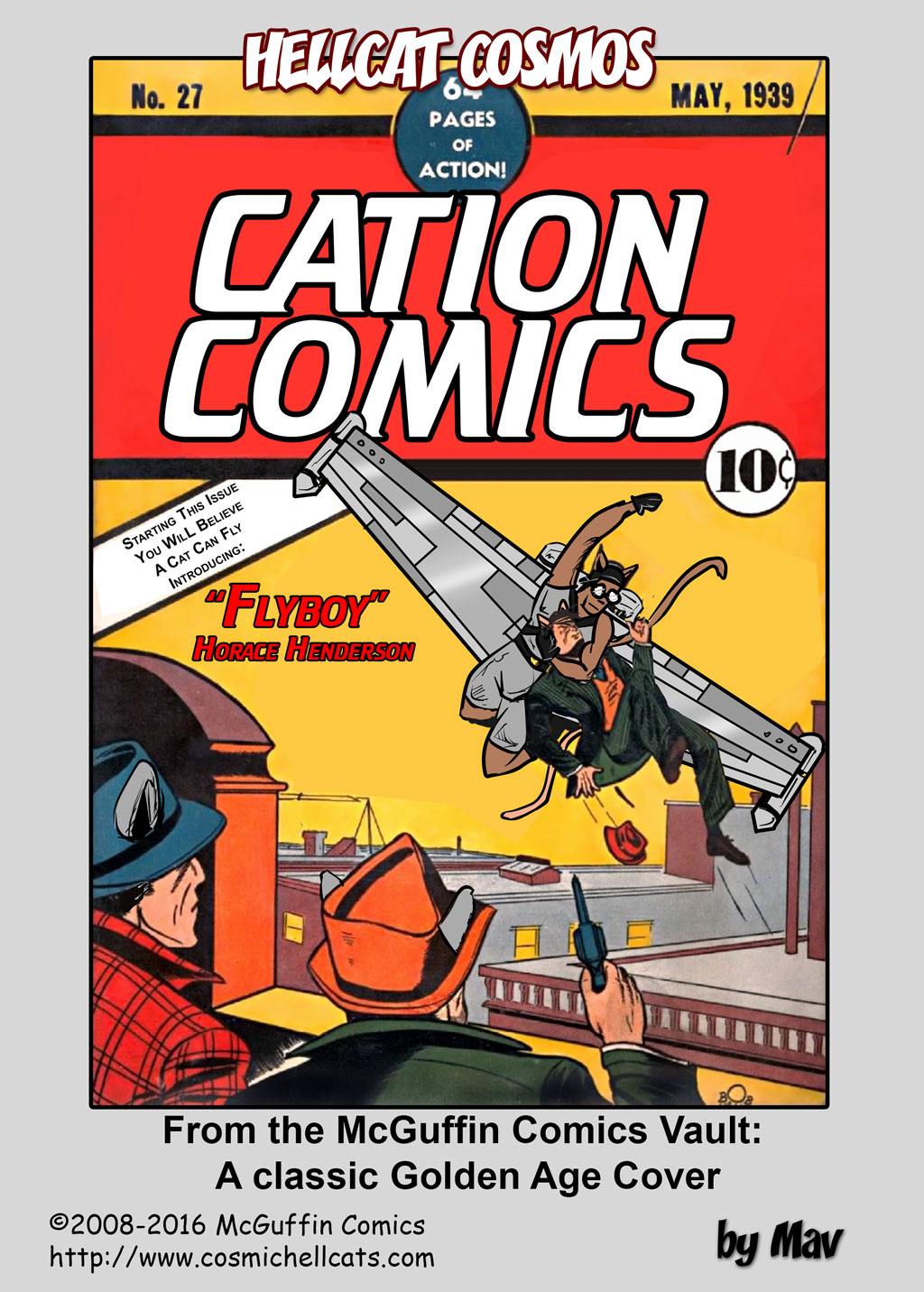 From the McGuffin Comics Vault: 1939