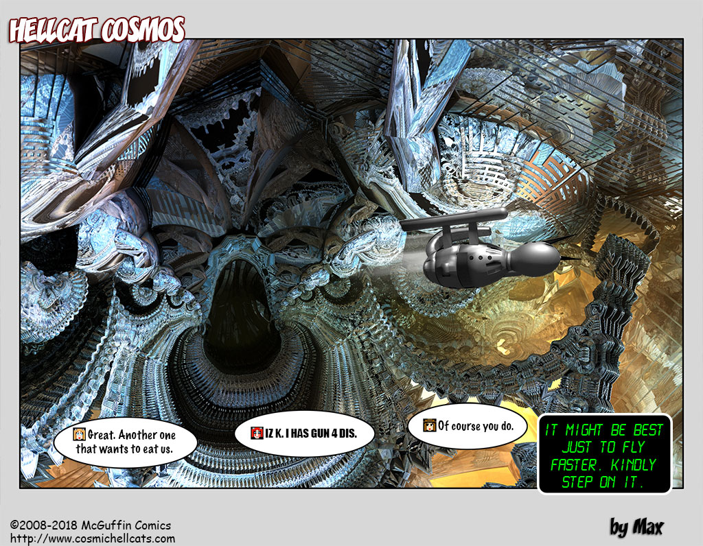 """Its name is the """"HYPERDIMENSIONAL HELLMOUTH INDIGESTIFIER 8000XL"""" but nobody really calls it that."""