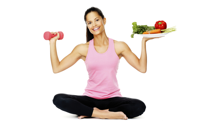 vitamin fruits and excercise picture