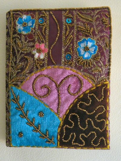 Brocade Velvet Handmade Notebook