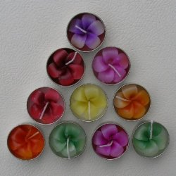 Flower Tea Lights