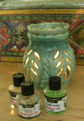 Fragrance Oils and Oil Burner