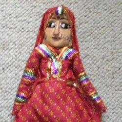Rajasthani puppets