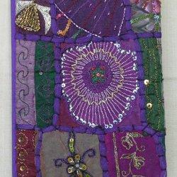 Embroidered Notebooks Purple