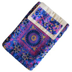 silk cotton ipad tablet bag
