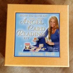 angel card reading kit doreen virtue