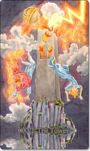 The Tower, www.aquatictarot.de