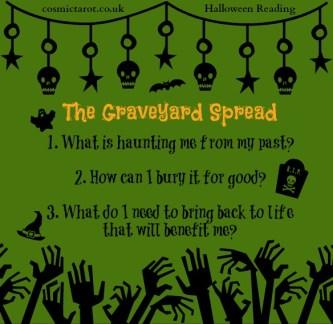 graveyard tarot spread
