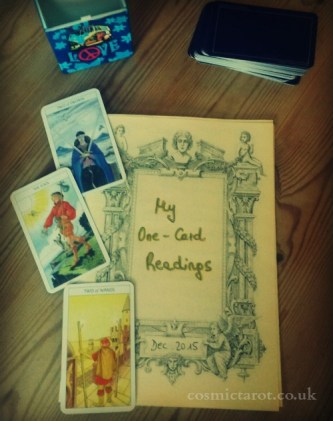 one card reading booklet front cover