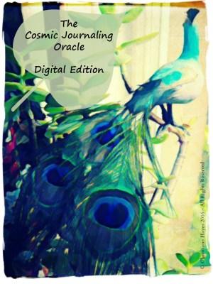 cosmic journaling oracle guidebook and digital edition deck