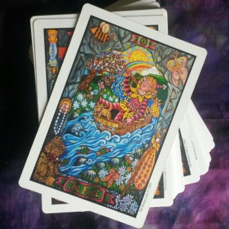 fool pearls of wisdom tarot