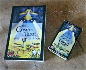 Cosmic Tarot Book and Deck