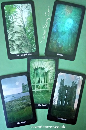 Cosmic Faery Tarot Shadow Major Arcana Cards